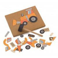 Набор для творчества Строительная техника, Viga Toys (50336)