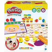 Набор для творчества Hasbro Play-Doh Буквы и языки (C3581)