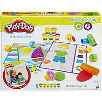 Набор для творчества Hasbro Play-Doh Текстуры и инструменты (B3408)
