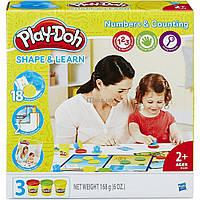 Набор для творчества Hasbro Play-Doh Цифры и числа (B3406)