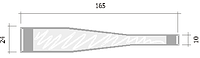 Ножки для воблеров, 165х24(10) мм.