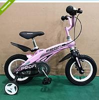 Велосипед двухколёсный 12 дюймов Projective LMG12122 магниевая рама розовый ***