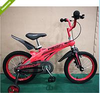 Велосипед двухколёсный 12 дюймов Projective LMG12123 магниевая рама красный ***