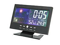 Автомобільна метеостанція з годинником Kroak 8082Т