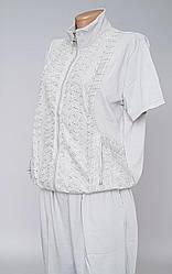 Костюм женский с бриджами на лето