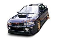 Воздухозаборники на капот для Subaru Impreza mk1 1997-2000