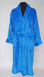 Махровый женский халат большого размера