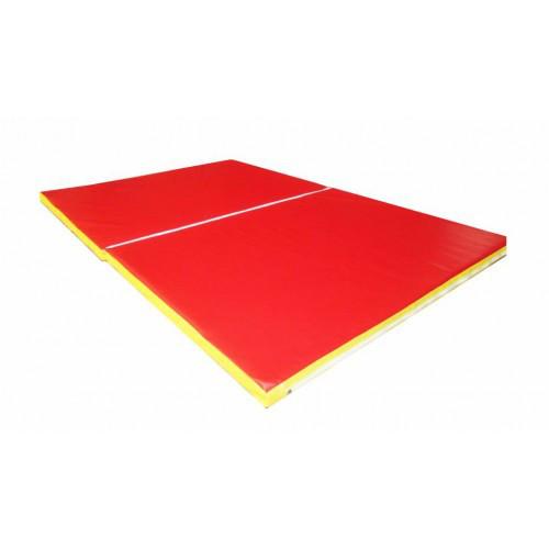 Спортивный складной мат 150-100-5 см с 2-х частей