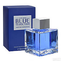 Antonio Banderas Blue Seduction 100ml ORIGINALsize мужская туалетная вода тестер духи аромат Антонио Бандерас