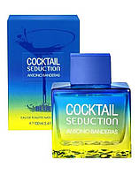 Antonio Banderas Cocktail in Blue Seduction, 100 ml ORIGINALsize мужская туалетная вода тестер духи аромат