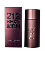 Carolina Herrera 212 Sexy, 100 ml Originalsize мужская туалетная вода тестер духи аромат