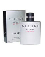 Chanel Allure Sport Pour Homme, 100 ml ORIGINALsize мужская туалетная вода тестер духи аромат