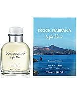 D&G Lighth Blue Discover Vulcano, 125 ml ORIGINALsize мужская туалетная вода тестер духи аромат