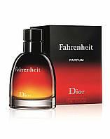 Dior Fahrenheit parfume, 75 ml ORIGINALsize мужская туалетная вода тестер духи аромат