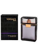 Versace Man Black, 100 ml ORIGINALsize мужская туалетная вода тестер духи аромат