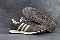 Кроссовки мужские Adidas Neo SD-4304 Материал замша. Коричневые