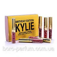 Kylie Birthday Edition matte liquid lipstick Набор жидких матовых помад   (6 шт)
