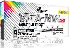 OLIMP Витамины и Минералы Vitamin Multiple Sport 40+ (40 лет+) 60 caps