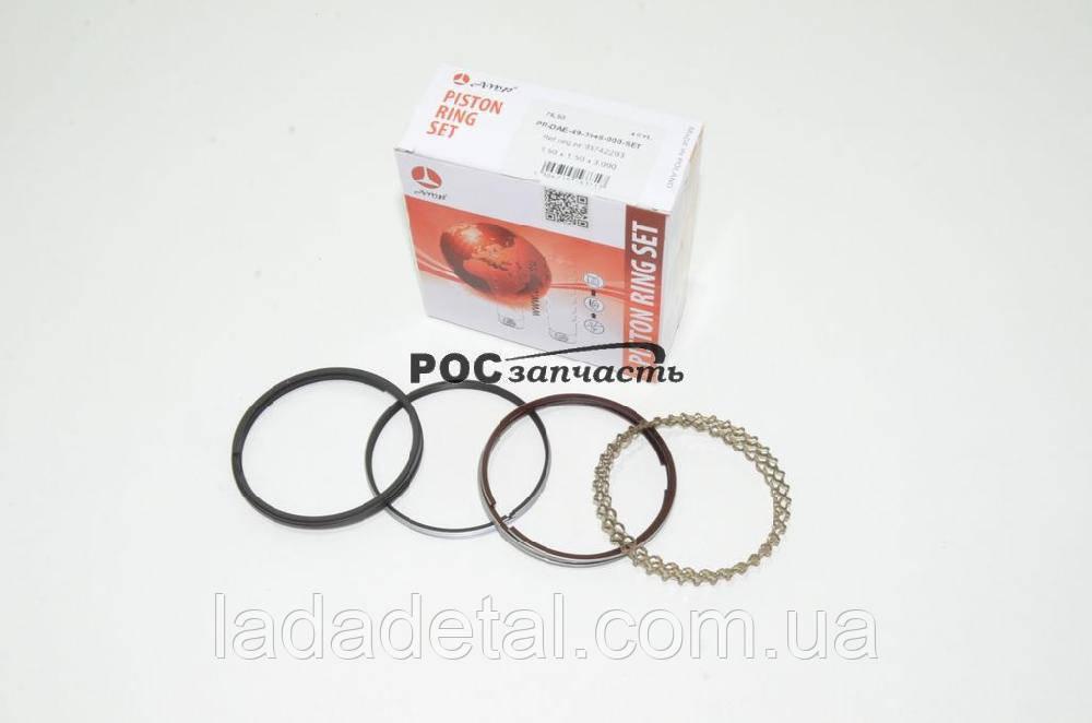 Кольца поршневые Ланос 1,5, Нексия AMP 76.5 стандарт