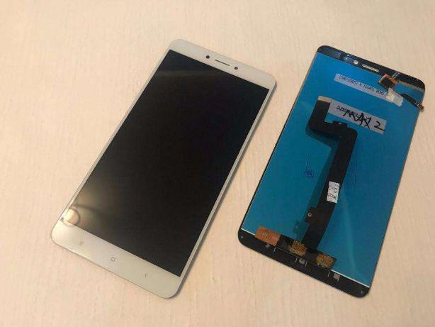 Дисплей модуль Xiaomi Mi Max 2 в зборі з тачскріном, білий