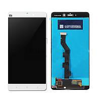 Дисплей модуль Xiaomi Mi Note Pro в зборі з тачскріном, білий