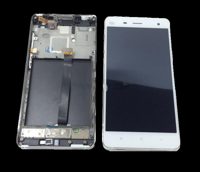Дисплей модуль Xiaomi Mi4 в зборі з тачскріном, білий