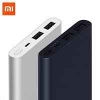 Портативное зарядное устройство Xiaomi Mi Power Bank 10000mAh Original (PLM09ZM) (2 USB,2.1A+1.5A)