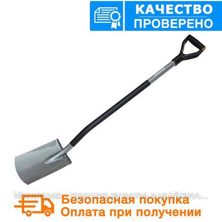 """Садовая лопата с закругленным лезвием """"ERGO"""" (131400), фото 2"""