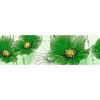Фриз Маргарита Б84411 200х60 (Зеленый)