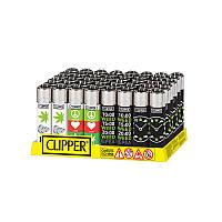 Легендарная зажигалка Clipper love and weed