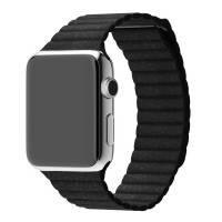 Ремешок Leather Loop Design для Apple watch 38mm