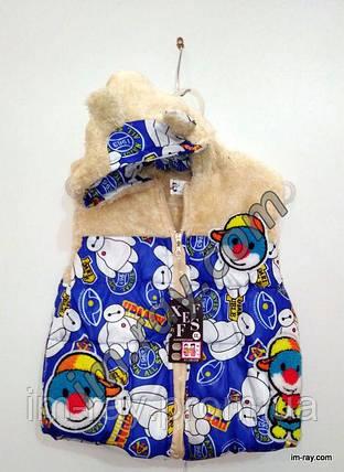 """Детский жилет """" Пингвинчик"""", фото 2"""