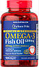 Puritan's Pride	Активное долголетие	Omega-3 Fish Oil 1200 mg double strength	90 softgels