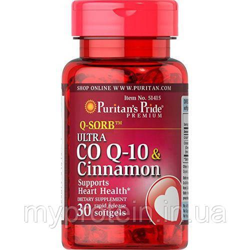 Puritan's Pride Активное долголетие Q-SORB Co Q-10 200 mg 30 softgels