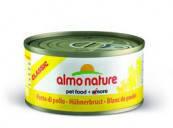 """Консервы Almo Nature Classic """"Аппетитные Куриные бедрышки""""  (консервы для котов и кошек)  70 г"""