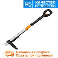 Телескопический инструмент для удаления сорняков fiskars (139960)