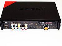 Усилитель звука UKC AK-102F 220V, 12V + караоке на 2 микрофона