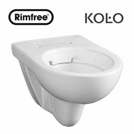 Унитаз подвесной Kolo Nova Pro  RIMFREE, фото 2