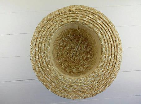 Шляпка канотье под декор оптом, фото 2