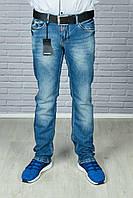 Мужские крутые джинсы с ремнём