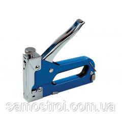 Степлер металлический 4-14 мм, синий MASTER TOOL