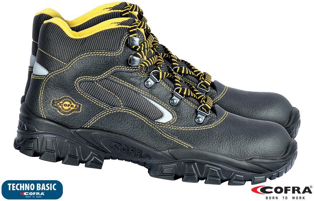 Спецобувь защитная Cofra Италия (рабочие ботинки) BRC-EUFRATE