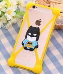 Универсальный 3D чехол-бампер Batman yellow