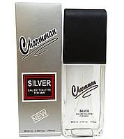 "Вода туал. Львов 100 мл ""Charmman"" Silver мужск."