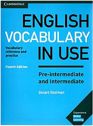 English Vocabulary in Use 4th Edition Pre-Intermediate/Intermediate with answers