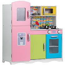 Деревянная кухня для детей Color TK038 + набор посуды, фото 3