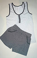 Комплект х/б майка и шорты