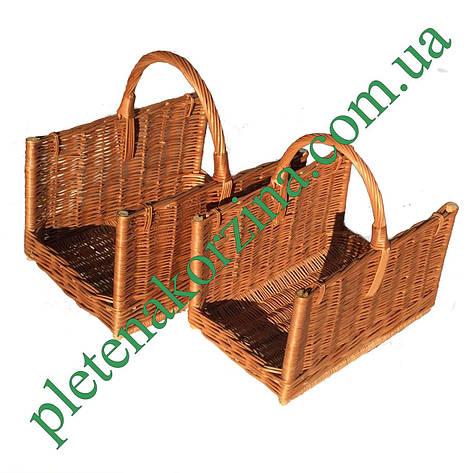 Набор прямоугольных корзин для камина 2шт. Арт.206-2, фото 2