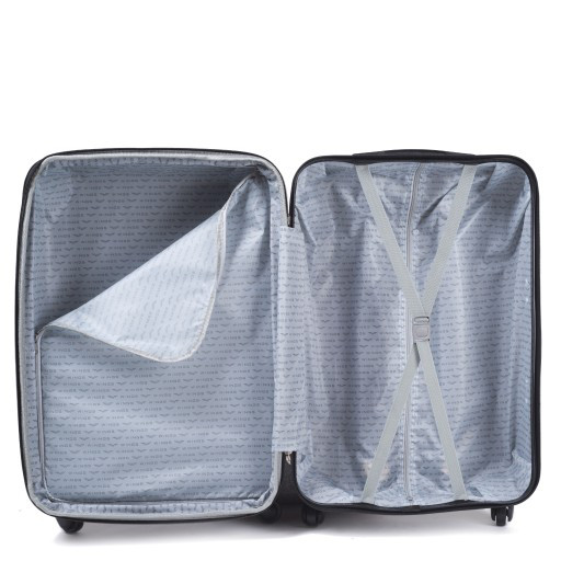4da9b2e85f4d Пластиковый чемодан S (маленький) на четырёх колёса Wings цвет blue, ...