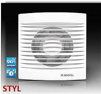 Вентилятор бытовой (Роликовый подшипник) STYL Ø120 WCH-P (с обратным клапаном) Dospel